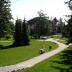 Vila Borievka okolie